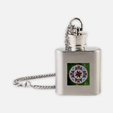 Traditional Pennsylvania Dutch Barn Flask Necklace