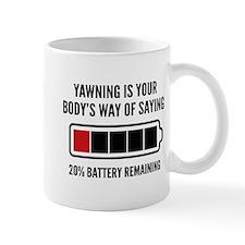 Yawning Mug