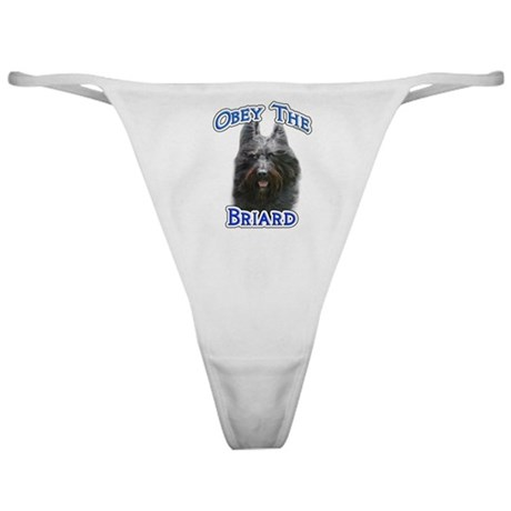 Obey Briard Classic Thong