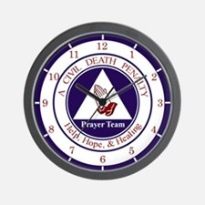 CD Prayer Team Wall Clock