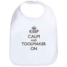 Keep Calm and Toolmaker ON Bib