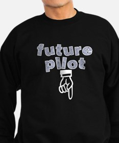 Future pilot - Sweatshirt (dark)
