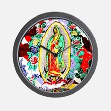 Virgin Mary - Our Lady (Señora) of Guad Wall Clock