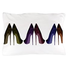Pretty Shoes All In A Row Pillow Case
