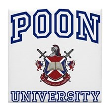 POON University Tile Coaster