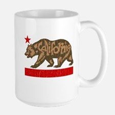Fuzzy California State Bear Mugs