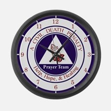 CD Prayer Team Large Wall Clock