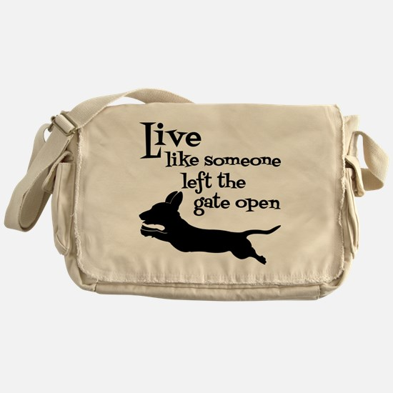 OPEN GATE! Messenger Bag
