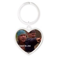 Cody and Dave wait for Teti to ligh Heart Keychain