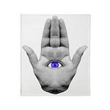 Evil eye Blankets