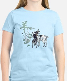 Watercolor Year of the Goat T-Shirt