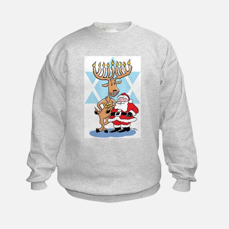 Jews 4 Santa Sweatshirt