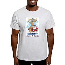 Jews 4 Santa T-Shirt