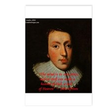 John Milton Postcards (package Of 8)