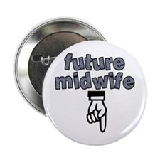 """Future midwife - 2.25"""" Button (10 pack)"""