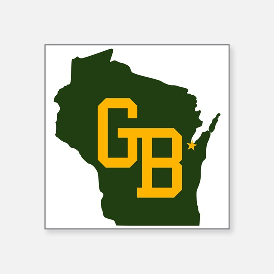 GB - Wisconsin Sticker