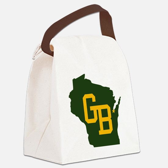 GB - Wisconsin Canvas Lunch Bag