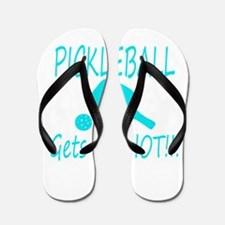 Pickleball gets me hot with paddle Flip Flops