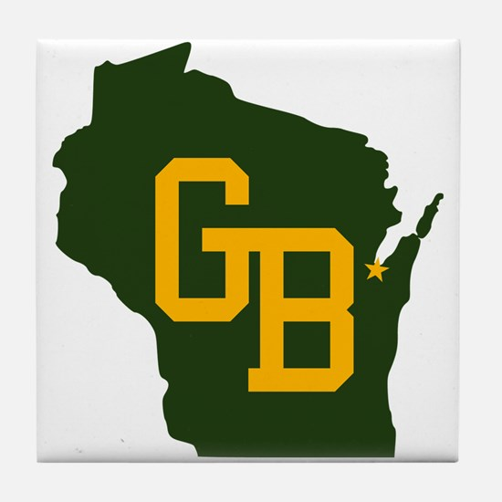 GB - Wisconsin Tile Coaster