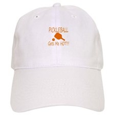 Pickleball gets me hot with paddle Baseball Baseball Cap