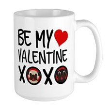 Be My Valentine XOXO Mugs