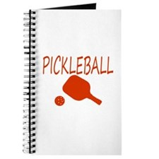 Pickleball with ball and paddle sport Journal