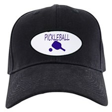 Pickleball with ball and paddle sport Baseball Hat