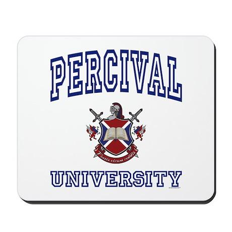 PERCIVAL University Mousepad