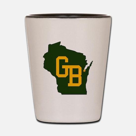 GB - Wisconsin Shot Glass