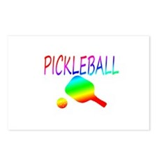 Pickleball with ball and paddle sport Postcards (P