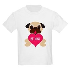Valentine's Day Pug - Be Mine T-Shirt