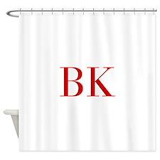 BK-bod red2 Shower Curtain