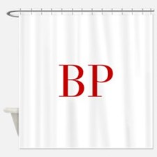 BP-bod red2 Shower Curtain