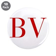 """BV-bod red2 3.5"""" Button (10 pack)"""