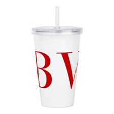 BV-bod red2 Acrylic Double-wall Tumbler