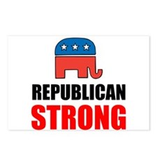 Republican Strong Postcards (Package of 8)