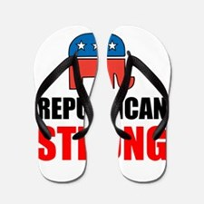 Republican Strong Flip Flops