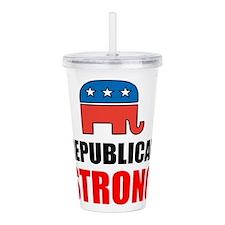 Republican Strong Acrylic Double-wall Tumbler