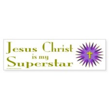JESUS SUPERSTAR Bumper Bumper Sticker