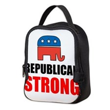 Republican Strong Neoprene Lunch Bag