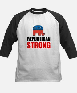 Republican Strong Baseball Jersey