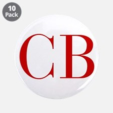 """CB-bod red2 3.5"""" Button (10 pack)"""