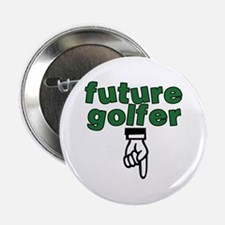 """Future golfer - 2.25"""" Button"""