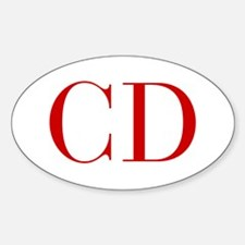 CD-bod red2 Decal