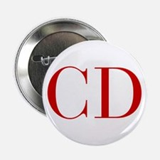 """CD-bod red2 2.25"""" Button (10 pack)"""