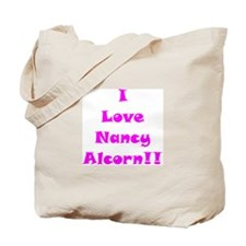 I Love Nancy Alcorn Tote Bag