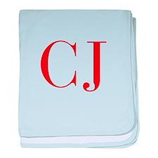 CJ-bod red2 baby blanket