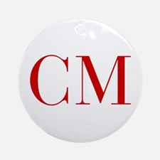 CM-bod red2 Ornament (Round)