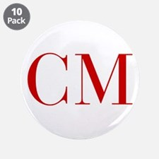 """CM-bod red2 3.5"""" Button (10 pack)"""