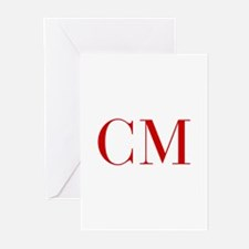 CM-bod red2 Greeting Cards
